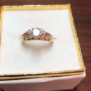 Jewelry - 14k Diamond wedding set